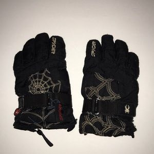 Spider gloves size small